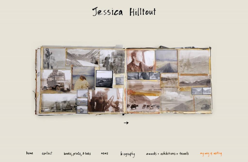 Jessica Hilltout Website